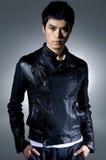 Fashion Asian man model Royalty Free Stock Image