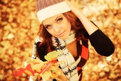 Fashion autumn Royalty Free Stock Images