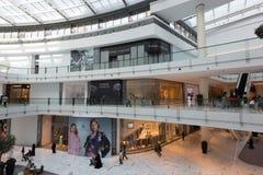 Fashion Avenue in Dubai Mall, United Arab Emirates Royalty Free Stock Photos