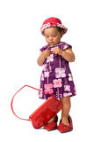 Fashion Baby Girl Posing Royalty Free Stock Photography
