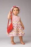 Fashion Baby Posing Stock Image