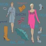 Fashion background Stock Photo