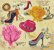 Fashion background royalty free illustration