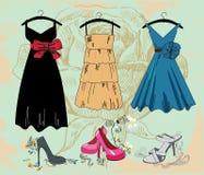 Fashion background Stock Photos