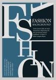 Fashion background, typographics Royalty Free Stock Photo