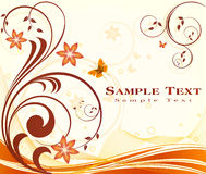 Fashion background vector Stock Image