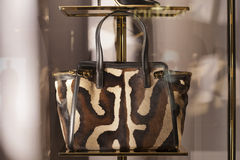 Fashion bag. Luxury elegance personal accessory Stock Photography