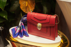 Fashion bag. Personal accessory styles elegance object Royalty Free Stock Image
