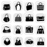 Fashion bag set Stock Photography