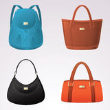 Fashion bags Royalty Free Stock Photography