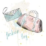 Fashion  bags. Stock Images