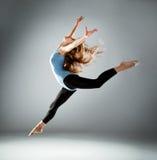 Fashion ballet dancer Stock Images