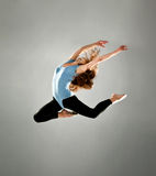Fashion ballet dancer Stock Images