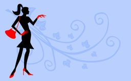 Fashion banner. Stock Photo
