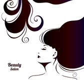 Fashion Banner for Make Up, Cosmetic, Shopping. Royalty Free Stock Photos