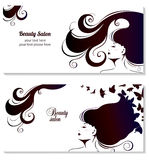 Fashion Banner for Make Up, Cosmetic, Shopping. Stock Image
