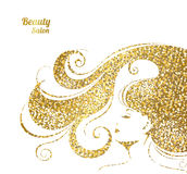 Fashion Banner for Make Up, Cosmetic, Shopping. Stock Photos