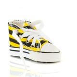 Fashion basketball shoe Stock Images