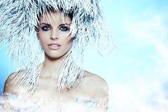 Fashion Beautiful Winter Woman. Fashion beautiful wnter woman portrait Stock Image