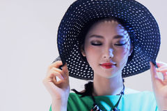 Fashion beautiful woman Stock Photography