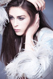Fashion beauty Stock Photography