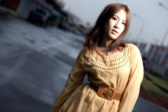 Fashion beauty asian girl Royalty Free Stock Images