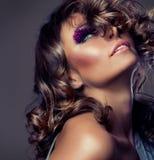 Fashion Beauty Girl Stock Image
