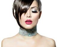 Fashion Beauty Girl. Gorgeous Woman Portrait Stock Photography