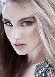 Fashion beauty girl portrait royalty free stock images