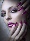 Fashion Beauty Make Up. Stock Photo
