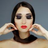 Fashion Beauty Model Portrait. Royalty Free Stock Image