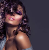 Fashion Beauty Portrait royalty free stock image