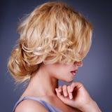 Fashion Beauty Portrait Stock Photo