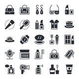 Fashion & Beauty Vector Icons 1 Stock Photography