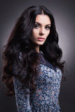 Fashion beauty woman with healthy hair Stock Photo