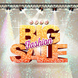 Fashion big sale Royalty Free Stock Images