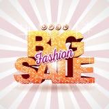 Fashion big sale Stock Photo