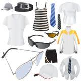 Fashion big set. Set of fashion objects big set vector royalty free illustration