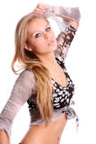 Fashion Blonde Woman Stock Images