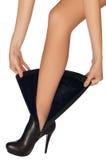 Fashion boots Stock Image