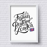 Fashion Boutique , London Stock Photography