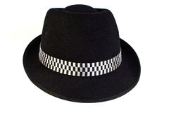 Fashion bowler hat Royalty Free Stock Images