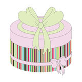 Fashion box Royalty Free Stock Images