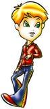 Fashion boy Royalty Free Stock Image