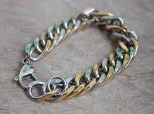 Fashion bracelet, beautiful jewelry Stock Photos