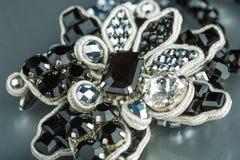 Fashion bracelet on black Stock Photo
