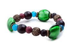Fashion bracelet with stone Stock Photography
