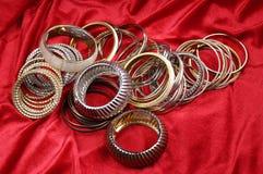 Fashion bracelets Royalty Free Stock Photography