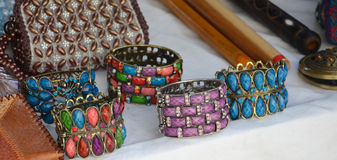 Fashion bracelets Royalty Free Stock Photos