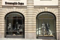Fashion brand - Ermenegildo Zegna Stock Photography